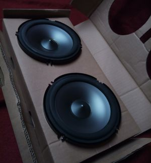 New Alpine Car Speaker 480 Watts (pair). Model: SPS600C for Sale in Richardson, TX