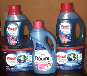 Persil laundry bundle for Sale in Lancaster, CA