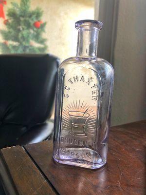 Antique glass Carson city Nevada thaxter medicine bottle for Sale in Ivins, UT