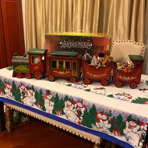 CHRISTMAS SANTA TRAIN 🚂 BRAND NEW VERY GOOD QUALITY!! NICE CHRISTMAS DECORATIONS!! for Sale in Ontario, CA