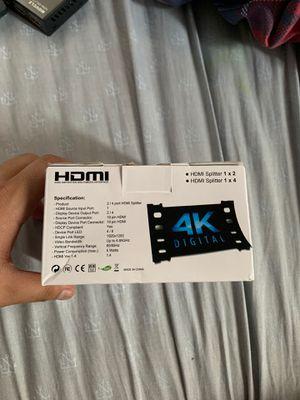 4K HDMI splitter for Sale in Sacramento, CA