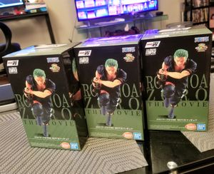 One Piece: Stampede Roronoa Zoro Ichiban Statue by Bandai Tamashii Nations for Sale in Los Angeles, CA