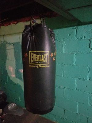 Everlast punching bag for Sale in Collinsville, IL