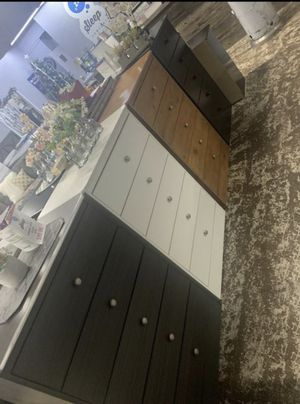 5- drawer chests available in a variety of colors for Sale in Bell, CA
