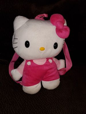 Hello Kitty Plush Backpack for Sale in Vacaville, CA