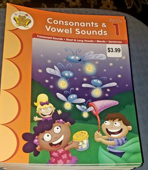 Grade (1) CONSONANTS &VOWEL SOUNDS (21) books for Sale in Fresno, CA