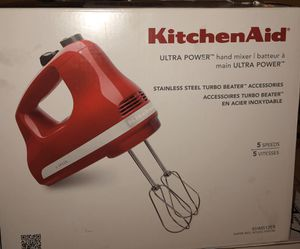 Kitchen aid hand mixer for Sale in Bloomington, CA