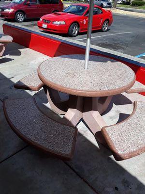 Tables and umbrellas for Sale in Stockton, CA