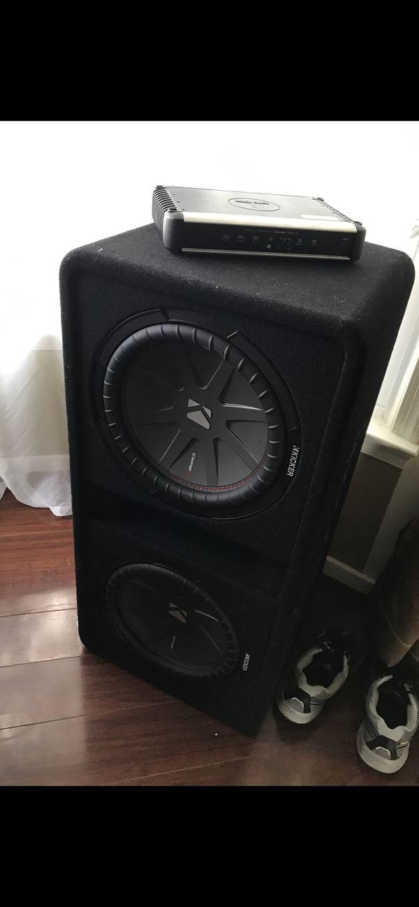 Kicker dual subs / JL HD amplifier