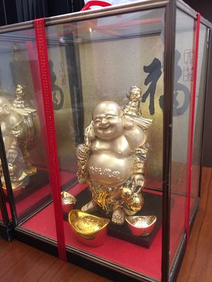 Collector Chinese GOOD Luck Gold Buddha Brand NEW for Sale in Rancho Mirage, CA