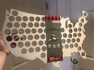 USA Bottle Cap Holder wall decoration for Sale in San Francisco, CA