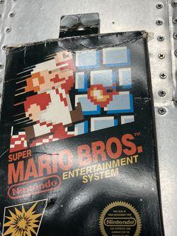 Super Mario Bros. (Nintendo Entertainment System, 1985) NES Game Complete CIB for Sale in Huntington Beach,  CA