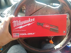 Milwaukee M12 1/4 ratchet *tool only* for Sale in Phoenix, AZ