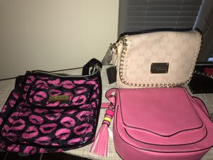 Purses (Coach, Bebe and Betsey Johnson) for Sale in Pine Lake, GA