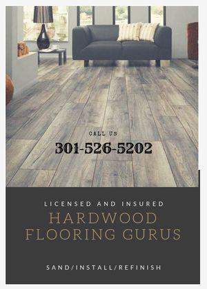 Hardwood Flooring Gurus!! for Sale in Gaithersburg, MD