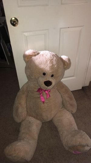 $40 for 4 Foot tall plush Teddy Bear stuffed animal for Sale in Magnolia, TX