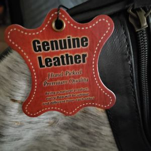 Leather and cow hide bag for Sale in Dallas, TX