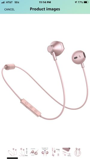 Bluetooth Headphone Rose gold for Sale in Las Vegas, NV