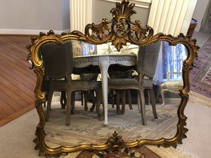 """35""""X35"""" Super Antique Vintage Ornate Heavy Wood Mirror """"SERIOUS BUYERS ONLY """" for Sale in Gainesville, VA"""