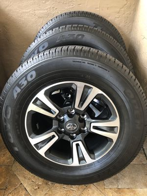 2019 Toyota Tacoma TRD Sport Toyo Open Country (4) P265/ 65R17. Brand new Only 27 miles on them for Sale in Tamarac, FL