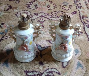 Antique Oil Lamps $10.00 Each for Sale in Graham, NC