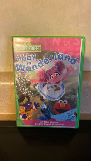 Sesame Street Abby in Wonderland DVD for Sale in Aliquippa, PA
