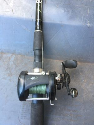 Fishing rod and reel for Sale in Sugar Land, TX