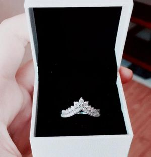 (Shipped Only) 925 Sterling Silver CZ Ring Set for Sale in Wichita, KS