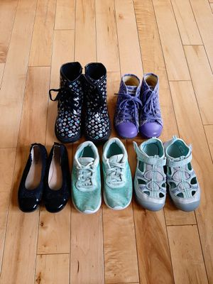 Girls Shoe Lot, Size 12 for Sale in Port Orchard, WA