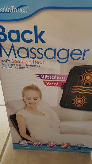 Health Touch Back Massager for Sale in Oviedo, FL