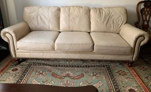 Beautiful Genuine Leather Couches for Sale in Fremont, CA