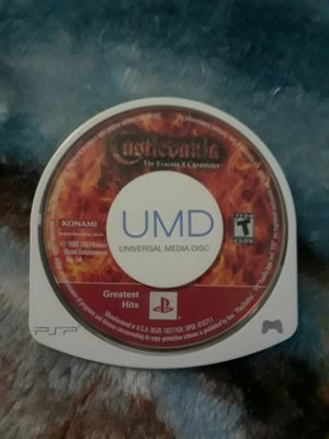 Castlevania Dracula X Chronicles - PSP UMD - UMD only (NO CASE) for Sale in Summersville, WV