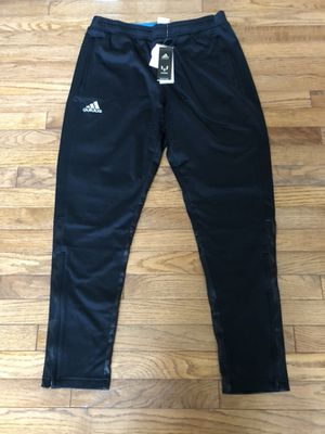 Brand New Adidas Messi Track Soccer Pants Tapered Joggers size Large for Sale in Sterling, VA