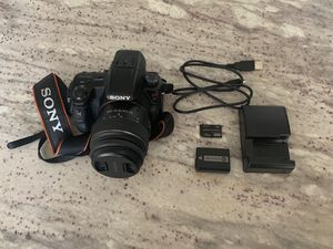 Sony Alpha 37 DSLR Camera, Charger, & 4GB Sony Memory Pro Duo for Sale in Fresno, CA