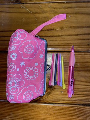 Nintendo DS Case with Styluses and Pen for Sale in Manhattan, IL