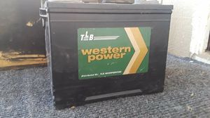 Western Car Battery for Sale in Woodlake, CA