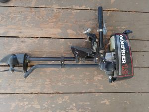 gamefisher 1.2hp outboard trolling motor for Sale in Lake Elsinore, CA