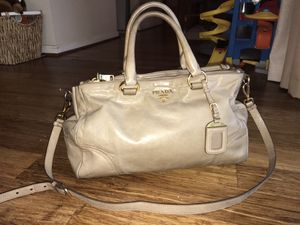 Authentic Prada double zip satchel bag for Sale in Fairfax, VA