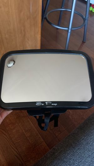 Baby mirror for car back seat for Sale in Shelby Charter Township, MI