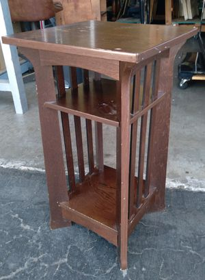 Wooden night/phone stand size 14x14x25 for Sale in San Diego, CA