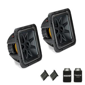 Brand new 2 12 kicker l7 subwoofers with ported box for Sale in Phoenix, AZ