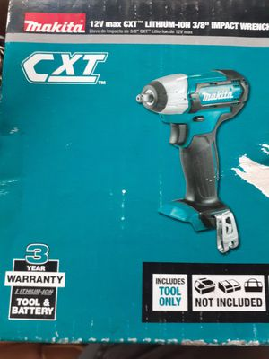 "Makita 12V Max 3/8"" Impact Wrench. Tool Only for Sale in Baltimore, MD"
