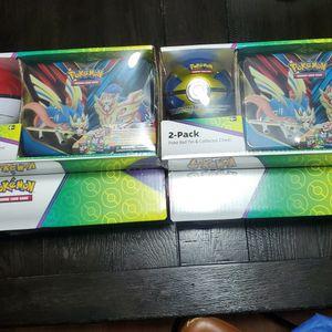 Pokemon Poke Ball Tin & collector Chest for Sale in Cicero, IL