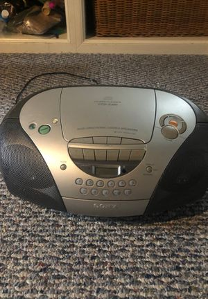 Sony CD player for Sale in Wall Township, NJ