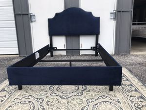 New Adorable FULL size bed frame with headboard for Sale in Columbus, OH