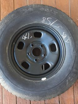 Dodge Ram 1500 OEM Spare Wheel And Tire 2014 (fits others) for Sale in Virginia Beach,  VA