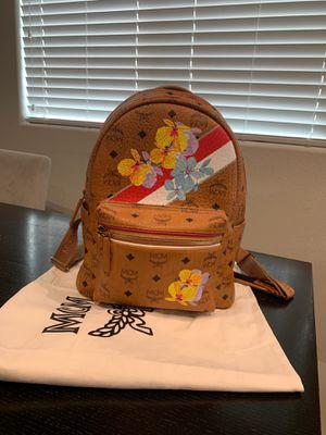 Mcm Floral Boston Bag in Cognac for Sale in Las Vegas, NV