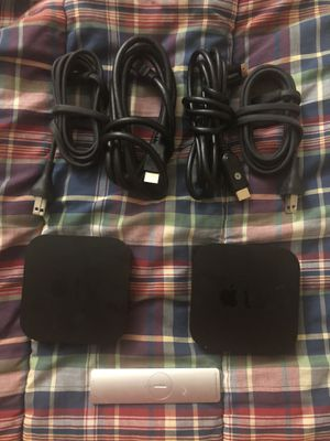 2 Apple TV 3rd Generations jailbroken for Sale in Indianapolis, IN
