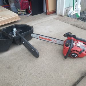 "Homlite Chainsaws With 16"" Bar And Case. for Sale in Newberg, OR"