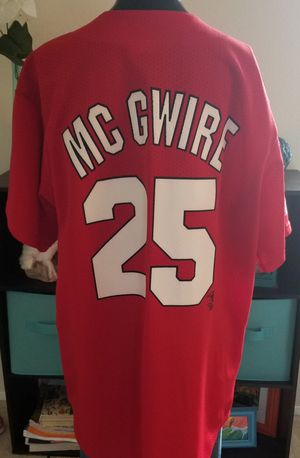 Mark McGwire Jersey for Sale in Westport, WA